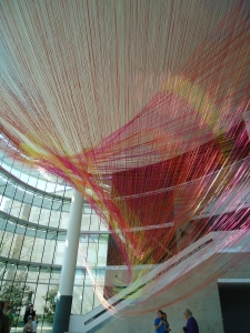 """""""Gravity's Loom,"""" by the Ball-Nogues Studio"""