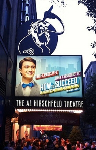 How to Succeed at the Al Hirschfeld Theater
