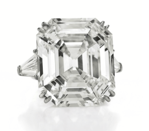The Elizabeth Taylor Diamond, A Diamond Ring