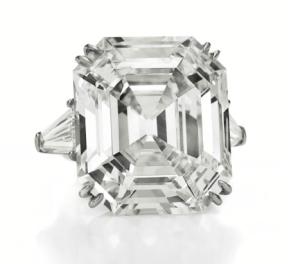 The Elizabeth Taylor Diamond, A Diamond Ring