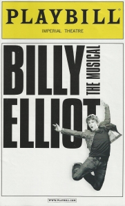 Vintage Billy Elliot Playbill, circa the year of its Tonys 2009