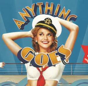 """Anything Goes"" Playbill"