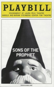 """Sons of the Prophet"" Playbill"