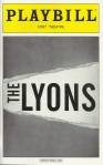 """The Lyons"" Playbill"