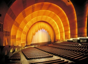 Proscenium, Radio City Music Hall
