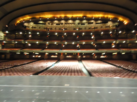 Stage View, Radio City Musical Hall