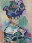 """Woman with a Hat,"" Henri Matisse, 1905"