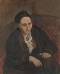 """""""Gertrude Stein,"""" Pablo Picasso 1905-06"""