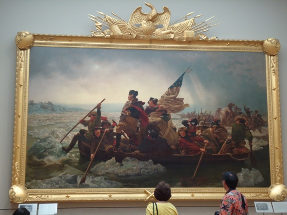 """Washington Crossing the Delaware,"" Emanuel Gottlieb Leutze, 1851"