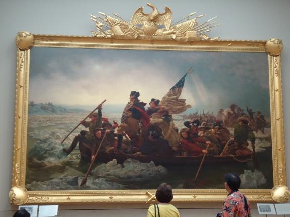 """Washington Crossing the Delaware,"" Emanuel Gottlieb Leutze, 1851"