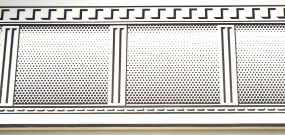 """Entablature,"" Lichtenstein"