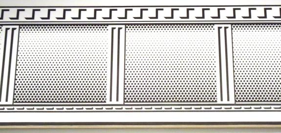 """""""Entablature,"""" Lichtenstein"""