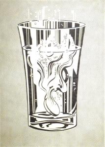 """""""Alka Seltzer,"""" Roy Lichtenstein, 1966"""