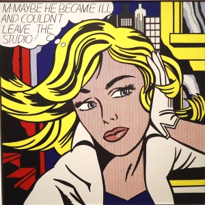 """M-Maybe,"" Roy Lichtenstein, c. 1965"