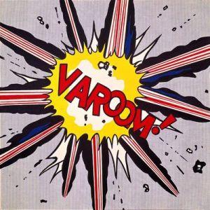 """""""Varoom,"""" Roy Lichtenstein, 1963"""