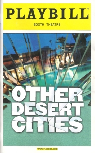 """Other Desert Cities"" Playbill"