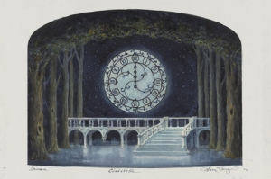 Anna Louizo's concept sketch for Cinderella.