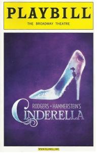 Cinderella Playbill